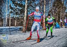Фото - Суслов Вячеслав на Деминском лыжном марафоне 2015