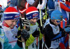 Фото любителей лыжного спорта - Лыжня России 2018, Ярославль