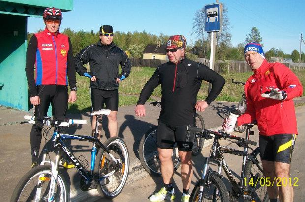 Первая совместная вело тренировка рыбинских участников SKI 76 TEAM