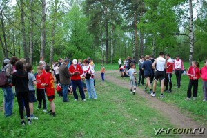 Весенний кросс среди учащихся в Павловской роще