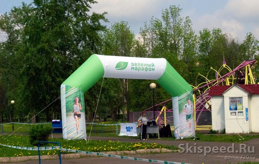 Наш одноклубник в лидерах Зелёного марафона