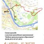 Схема проведения соревнований - Неделя мультиспорта