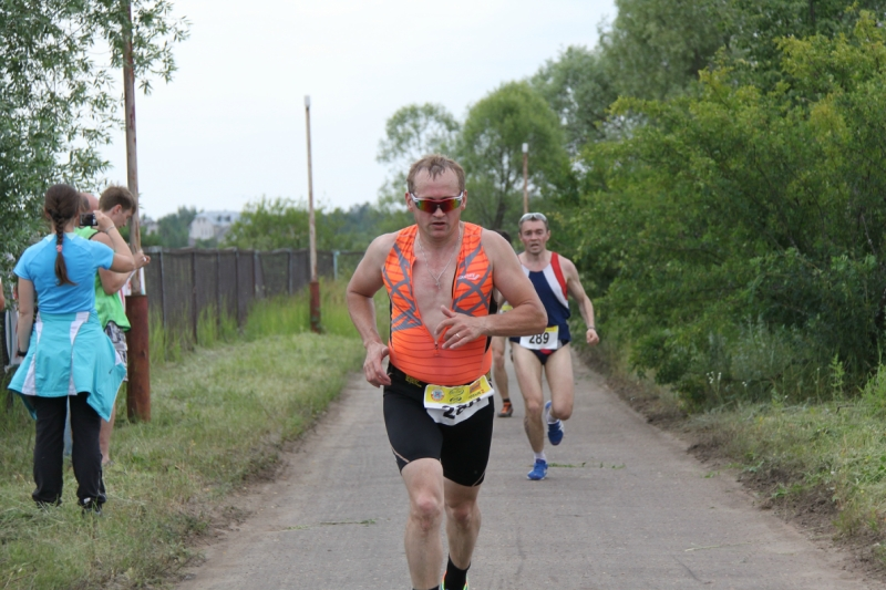 Фото триатлониста