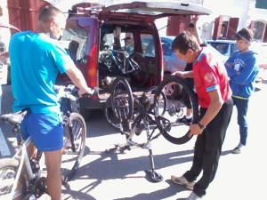 Праздник велоспорта в Плёсе