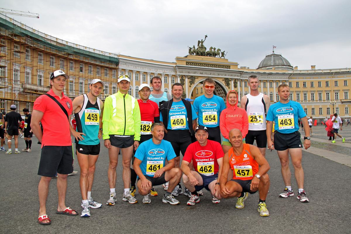 Фоторепортаж с марафона Белые ночи в Санкт-Петербурге