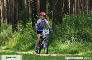 Детская велогонка