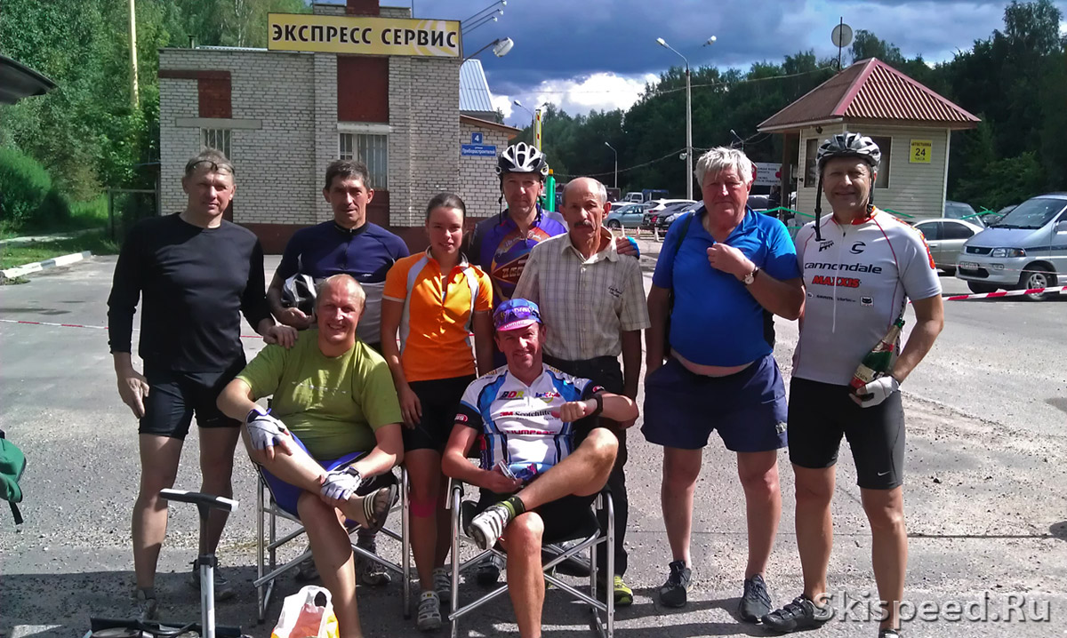 Фото велопробег Дубна-Медведица 2012