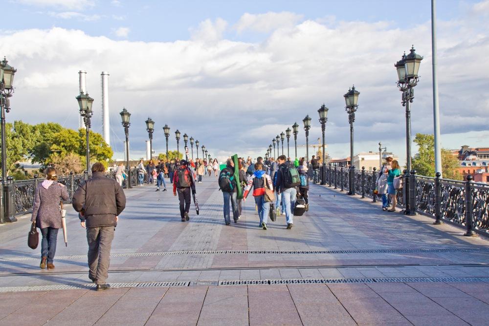 Фоторепортаж с Московского международного марафона мира 2012