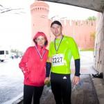 Фото - Подобедовы Олег и Жанна на Московском марафоне 2012
