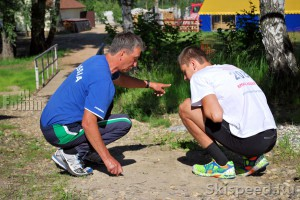 Разговор тренера со спортсменом