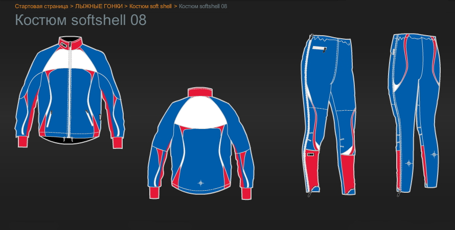 Зимняя коллекция экипировки Ski 76 Team