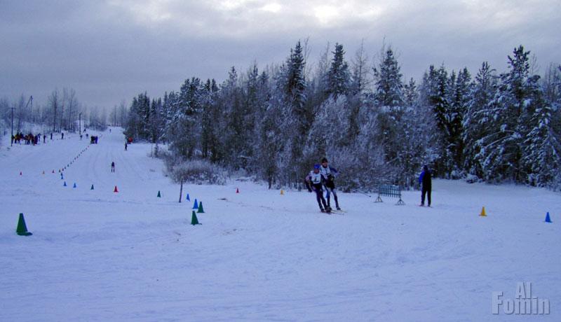 Лыжный стадион в Ухте