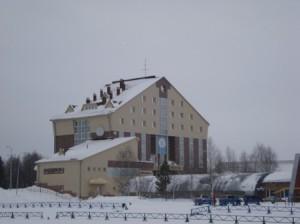 Гостиница Олимпиец на лыжном стадионе