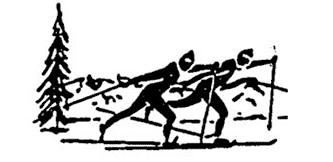 Логотип Российского любительского лыжного союза - РЛЛС