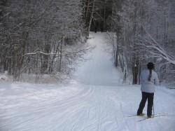 Лыжня в Белкино, выезд к Спутнику