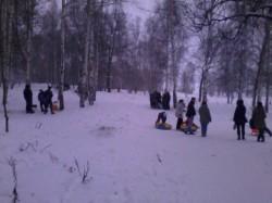 Шашлыки на лыжне в Павловской роще