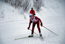Фото лыжницы из Данилова