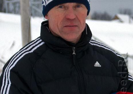 Фото - Кирсанов Андрей Николаевич тренер по лыжным гонкам в с. Дмитриановское Ростовского р-на