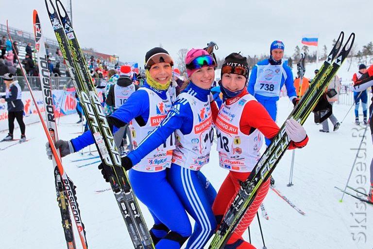 После финиша Лыжни России 2013