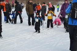 Дети на Тартуском  марафоне