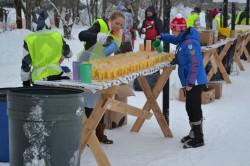 Пункты питания Тартуского марафона