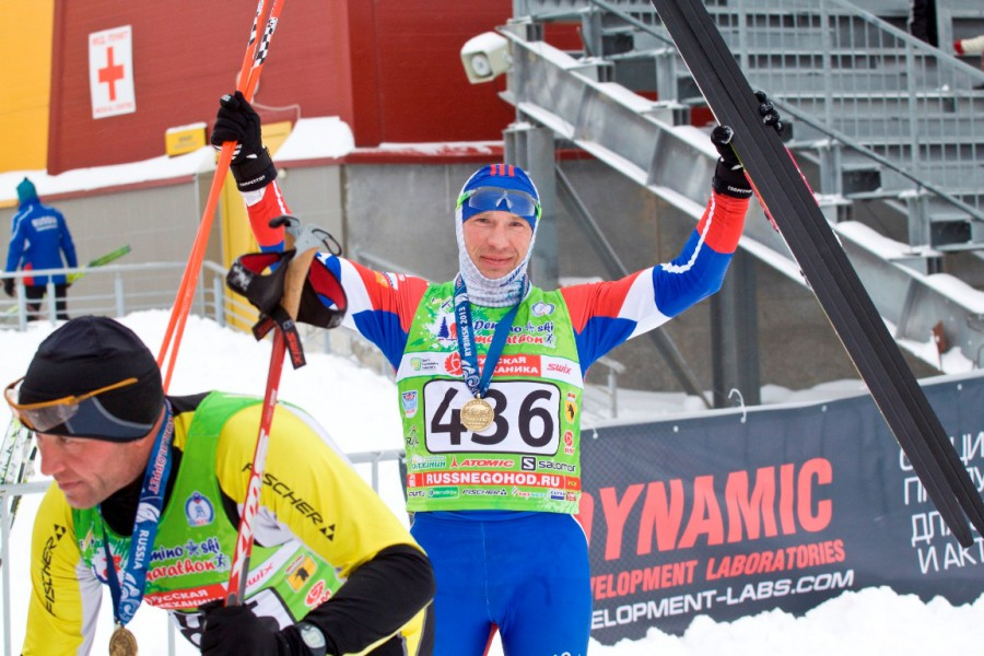 Костромич Алесандр Смоляков стартовавший из второй волны закончил дистанцию на 108 месте.