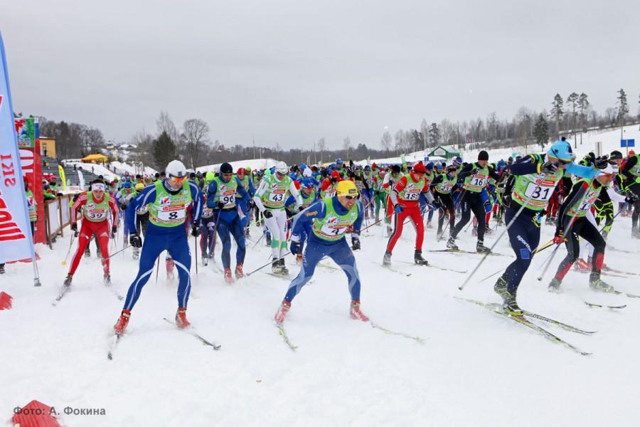 Старт Деминского марафона 2013