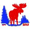 Логотип Деминского марафона