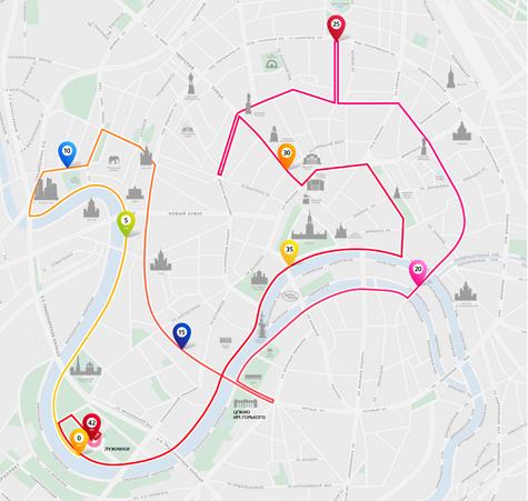 Схема Московского бегового
