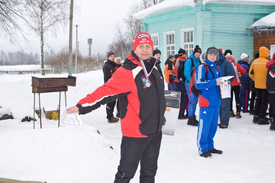 Костромич Олег Лебедев является уже ветераном лыжных гонок, отлично физически подготовлен и редко уезжает без награды! Поздравляем!