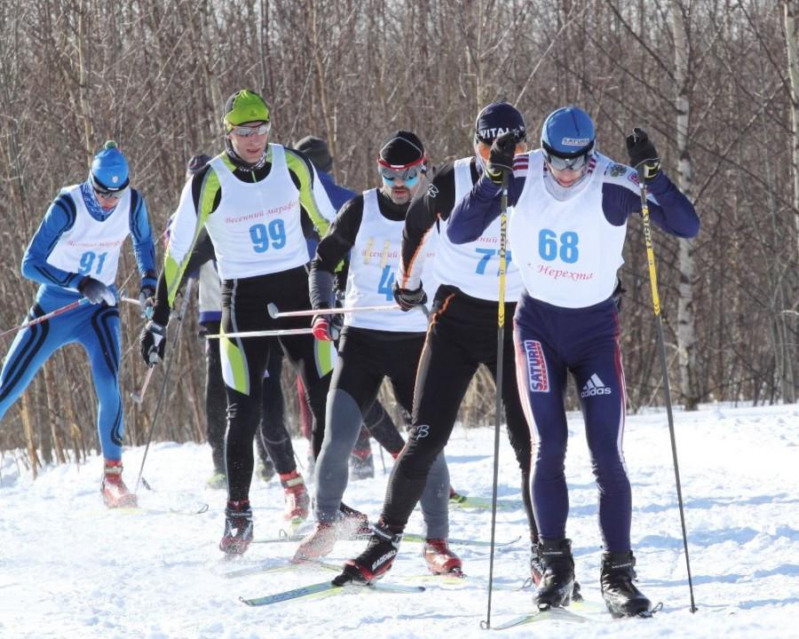 Пока лидерскую группу возглавляет молодой и перспективный лыжник Алексндр Юргайтис.