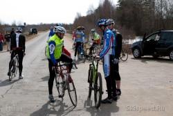 Фото места старта шоссейной велогонки