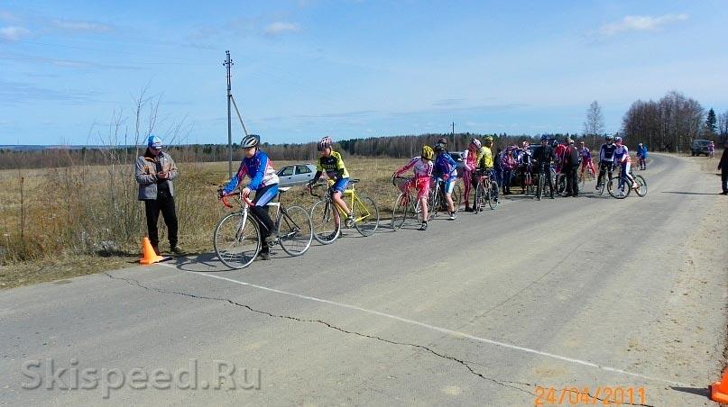 Фото велогонки в Вологде 2011
