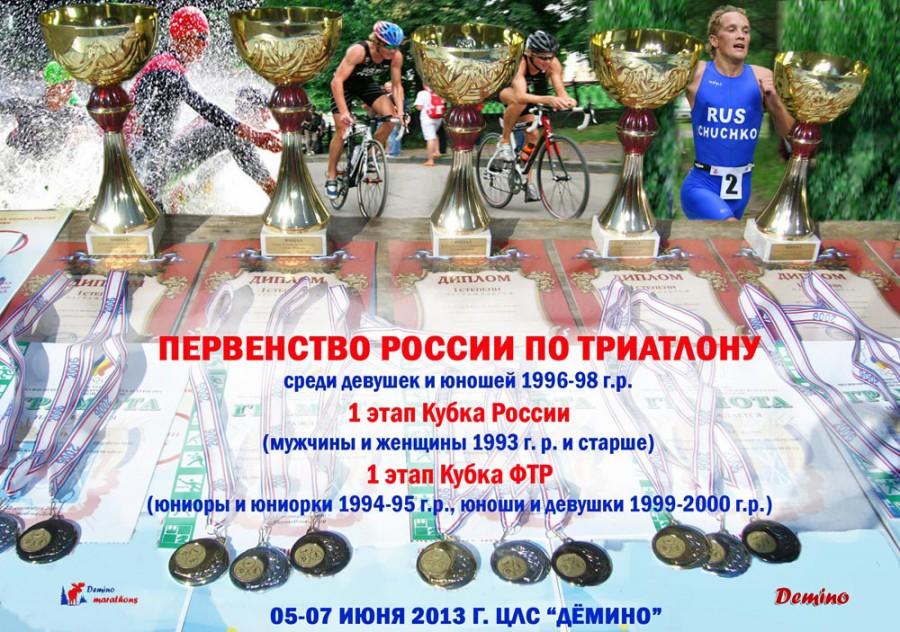 Афиша Этап кубка России по триатлону в Демино