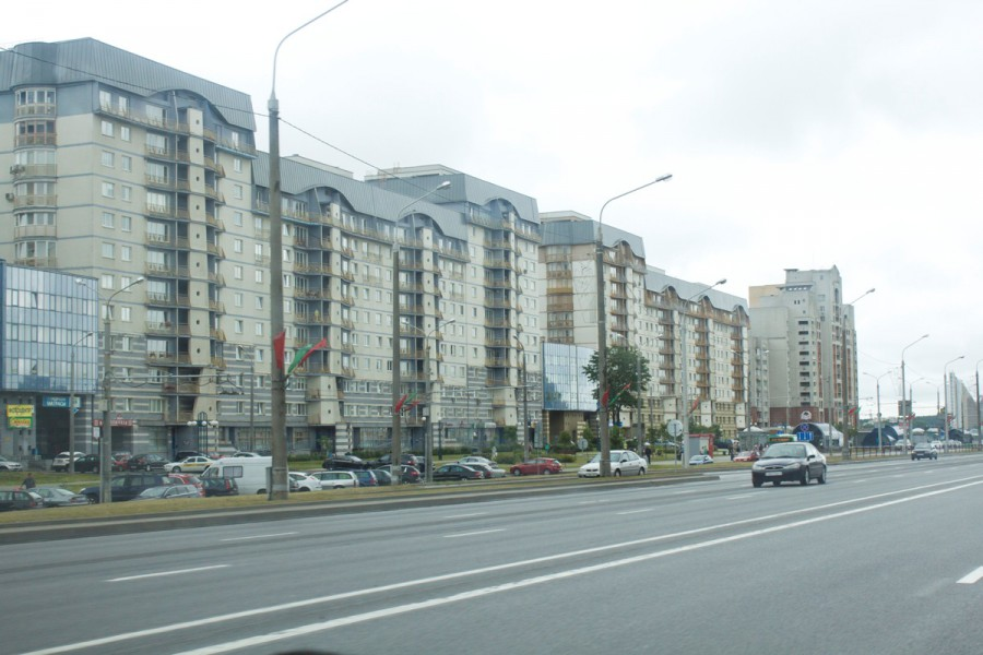 проспекты Минска