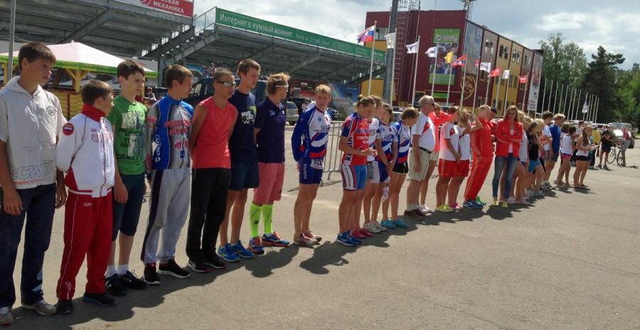 Фото. Первенство России по триатлону в Демино 2013