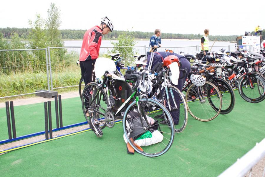 подготовка велоснаряжения
