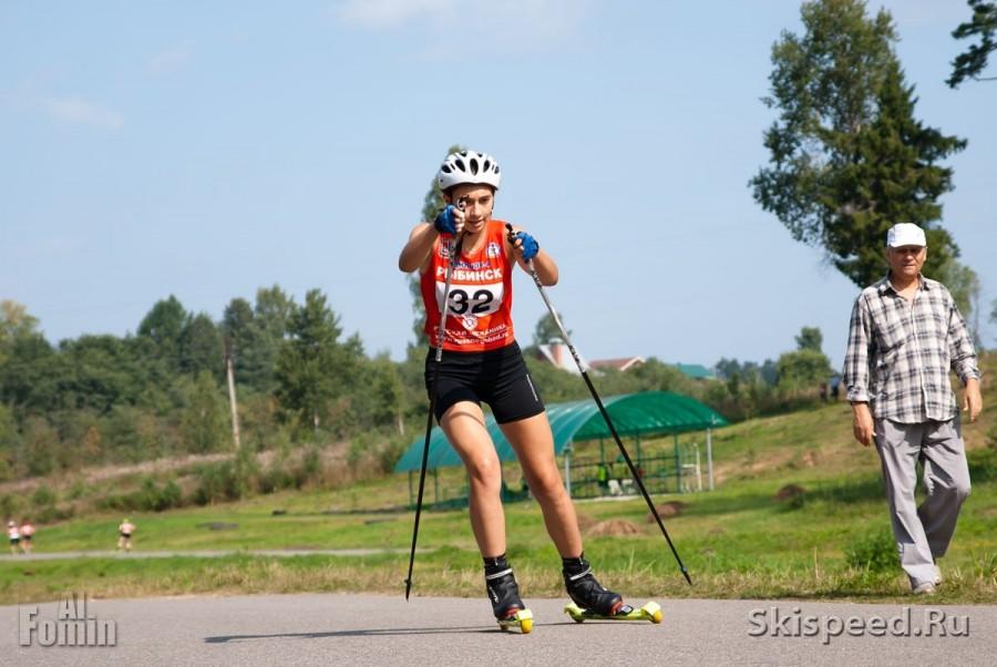 Фото с Чемпионата Ярославской области по лыжероллерам и кроссу 2013