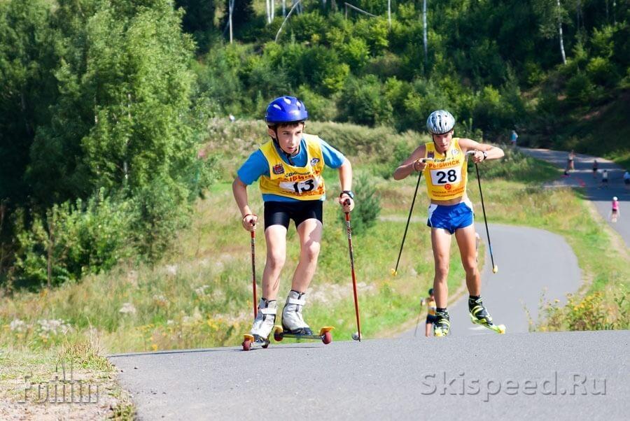 Фоторепортаж с Чемпионата Ярославской области по лыжероллерам и кроссу — часть 2
