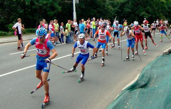 Фото Чемпионат России по лыжероллерам, Липецк 2013