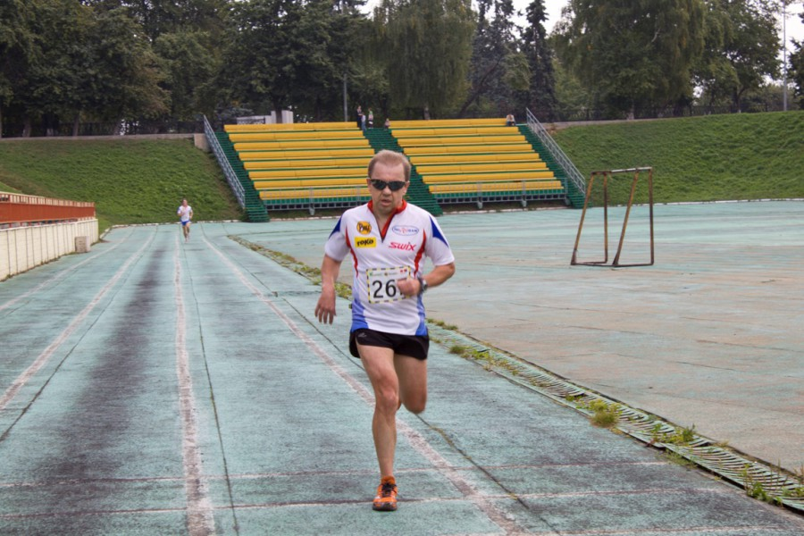 Фото Сергея Колгушкина на финише ЯзаБег 2013