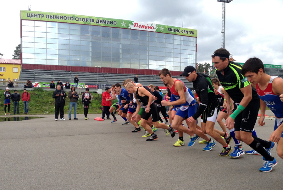 Фото Чемпионата России по дуатлону 2013 в Демино