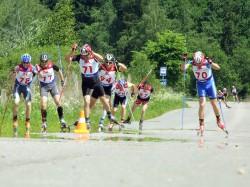 Ярославские спортсмены отличились на Кстовской лыжероллерной гонке