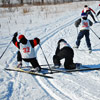 Фото Лыжные трассы. Падения