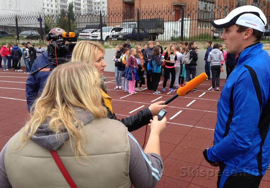 Фото Российская марафонская команда в Рыбинске
