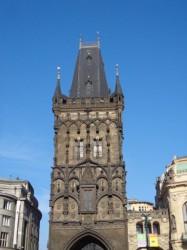Фото. Прага. Пороховая башня