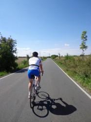 Фото. Велодорожки за городом в Чехии