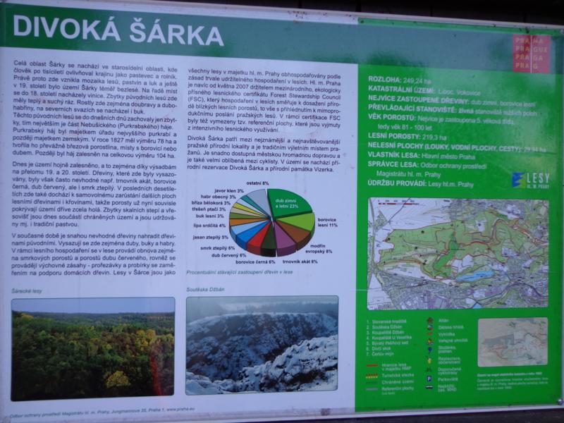 Схема природно-спортивного парка Дивока Шарка
