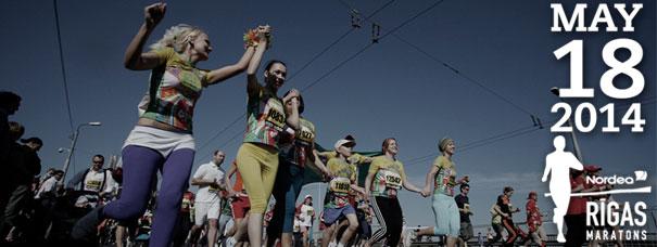 Рижский беговой марафон 2014. Фото