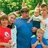 Семья Счастливых. Фото из журнала Лыжный спорт.